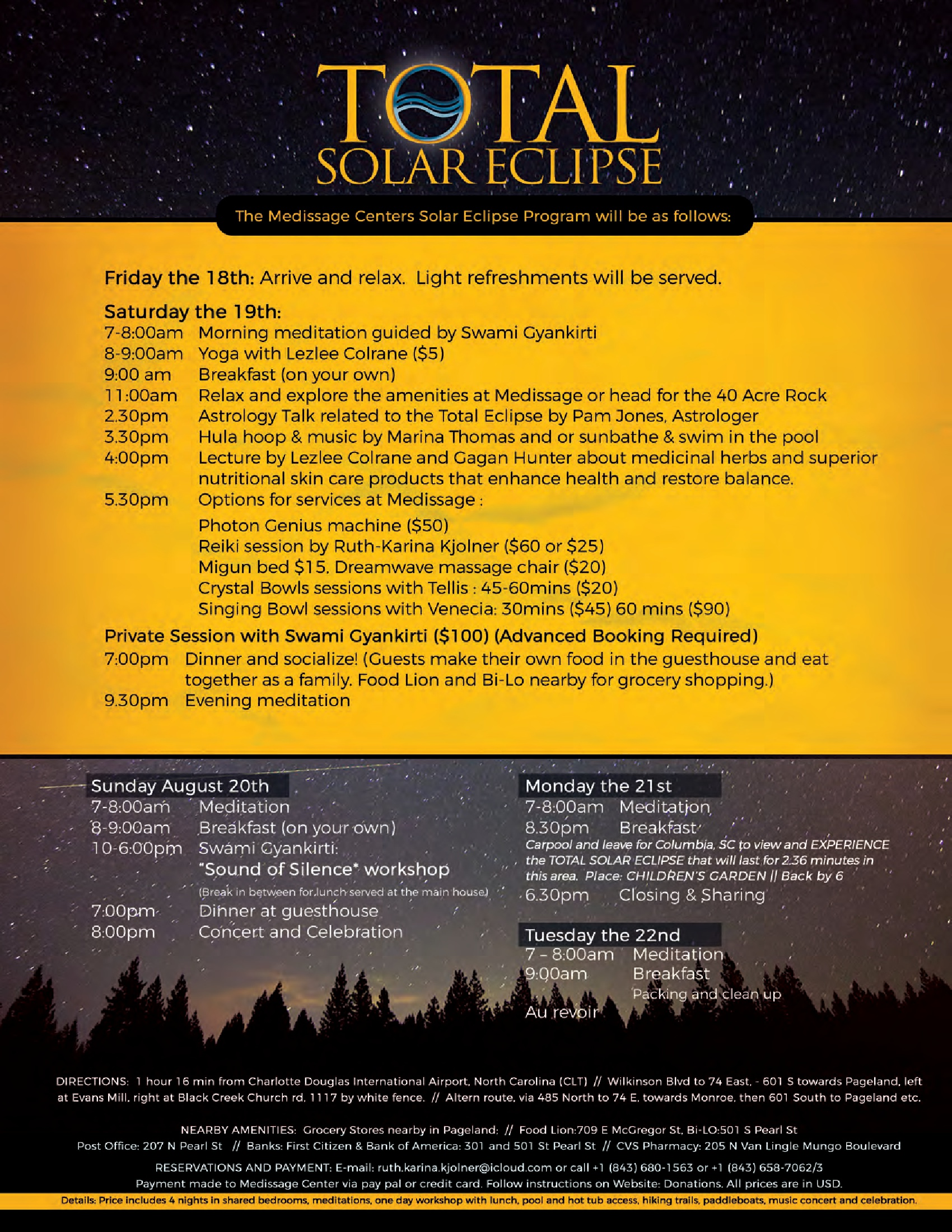 Total Eclipse Brochure Page 2