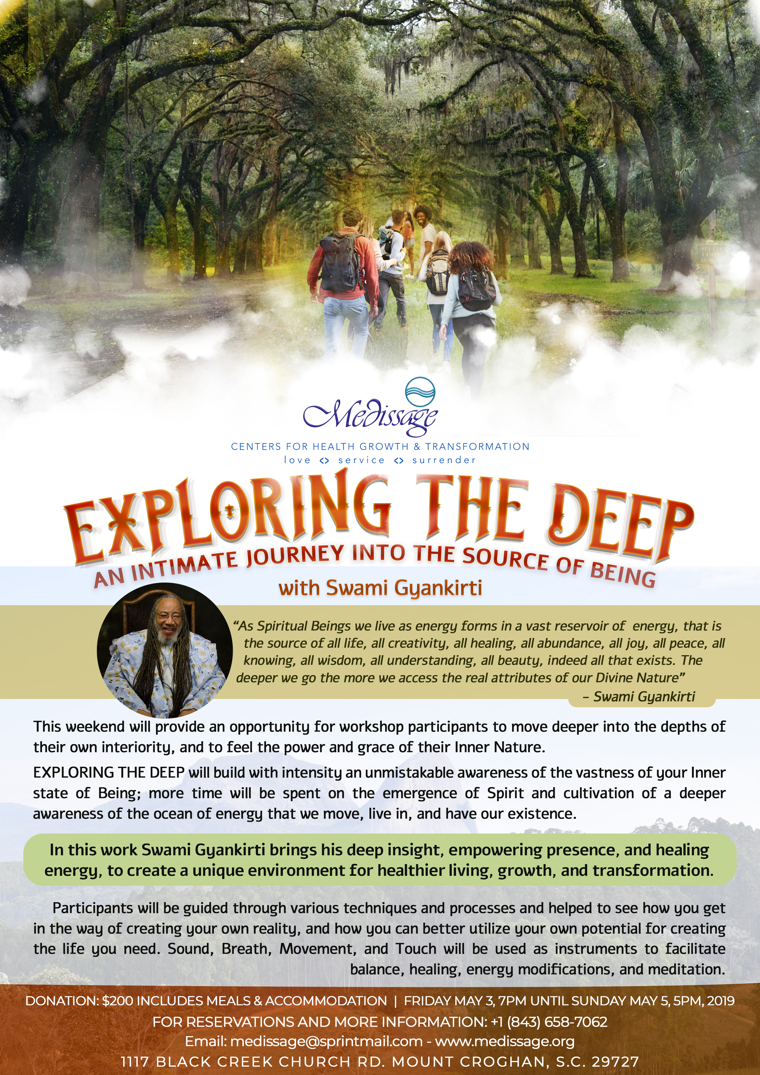 Exploring the Deep - An Intimate Journey into the Source of Being